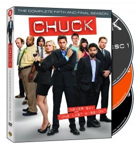 Chuck Season 5 On DVD Blu Ray