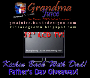Fathers Day Kickin Back with Dad Blogger sign Ups