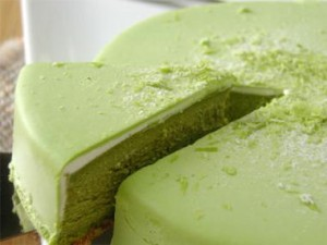 Japanese Green Tea Cheesecake